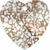 Heart 14.4x14mm Rose Patina Crystal
